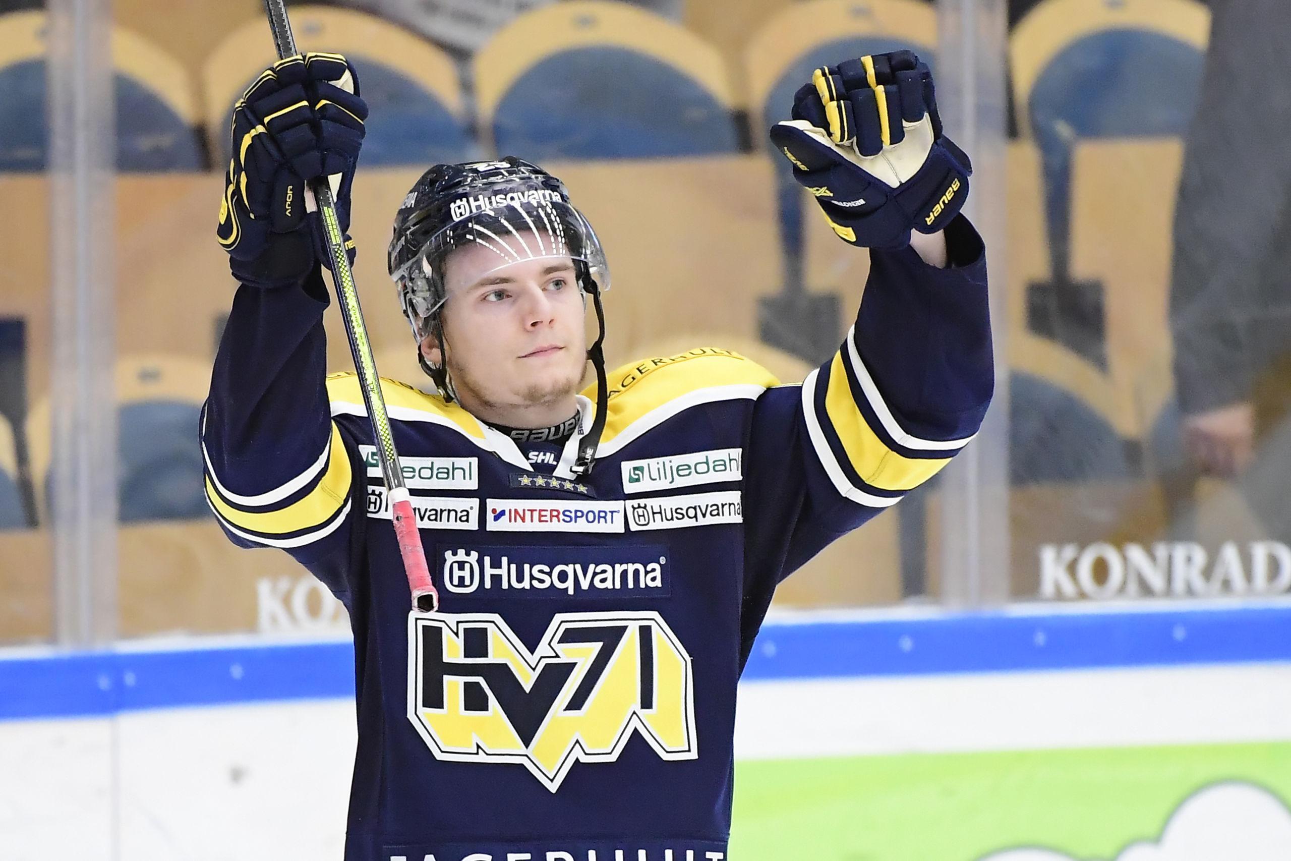 Första målen för Lias Andersson
