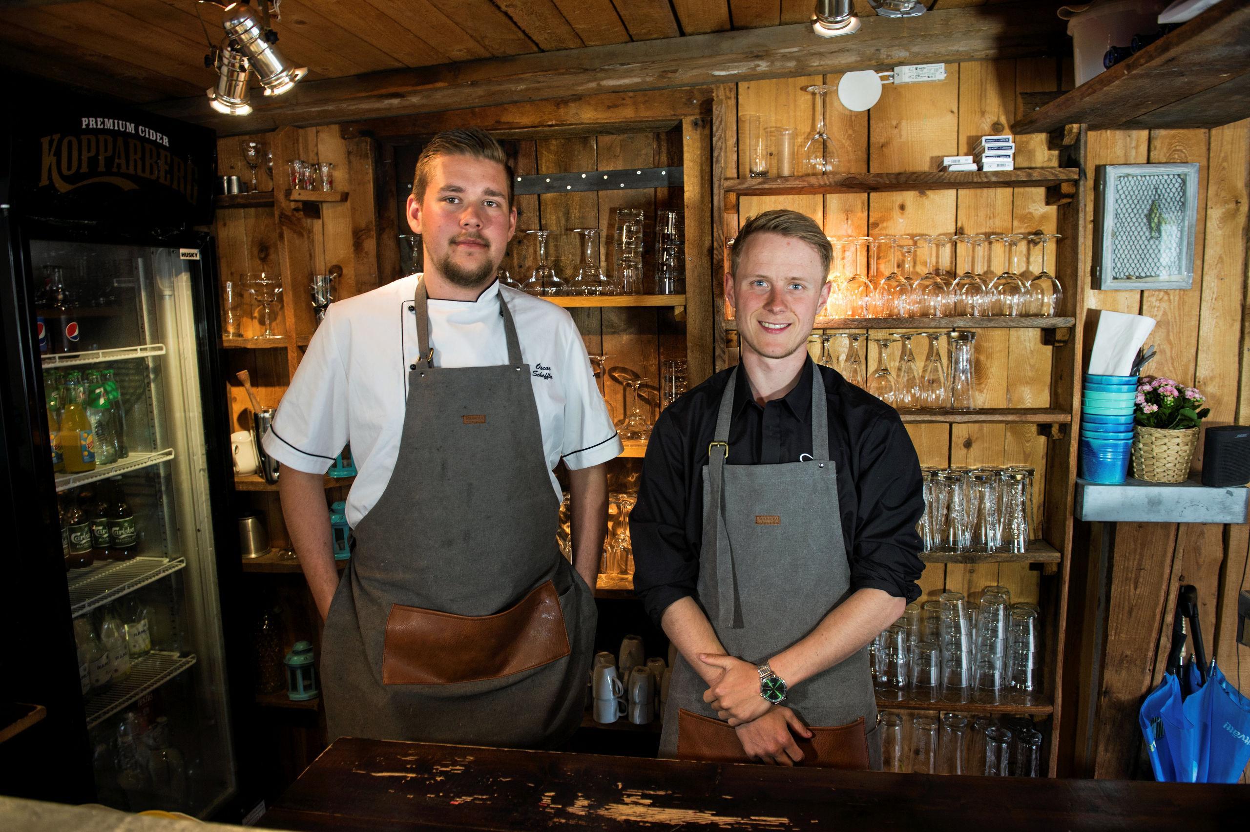 Oscar Scheffler och Theo Pfeiff öppnar egen restaurang på hemmaplan