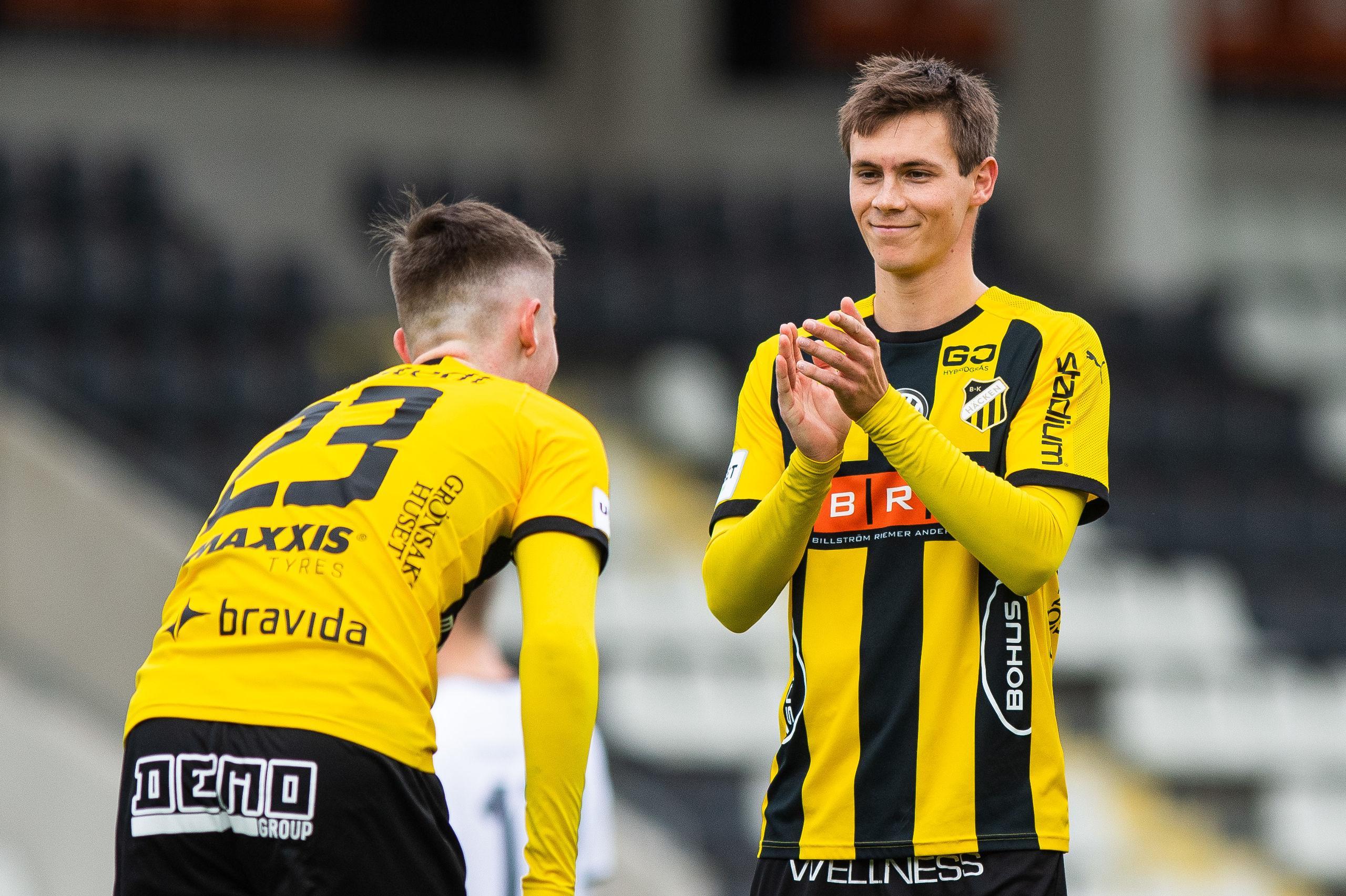 BK Häckens Tobias Carlsson – från division 7 till Allsvenskan