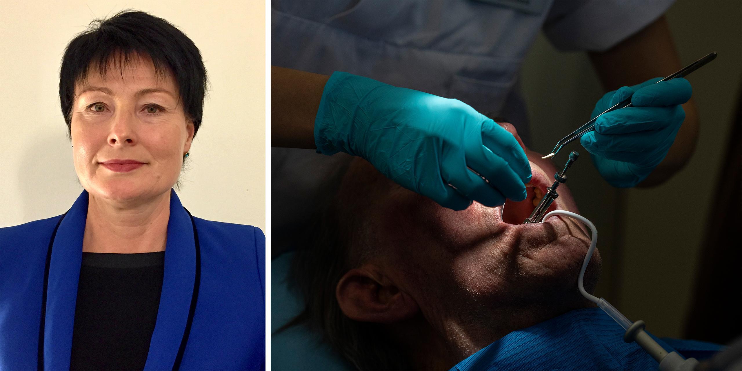 Tandläkarmottagning i beredskap för coronapatienter