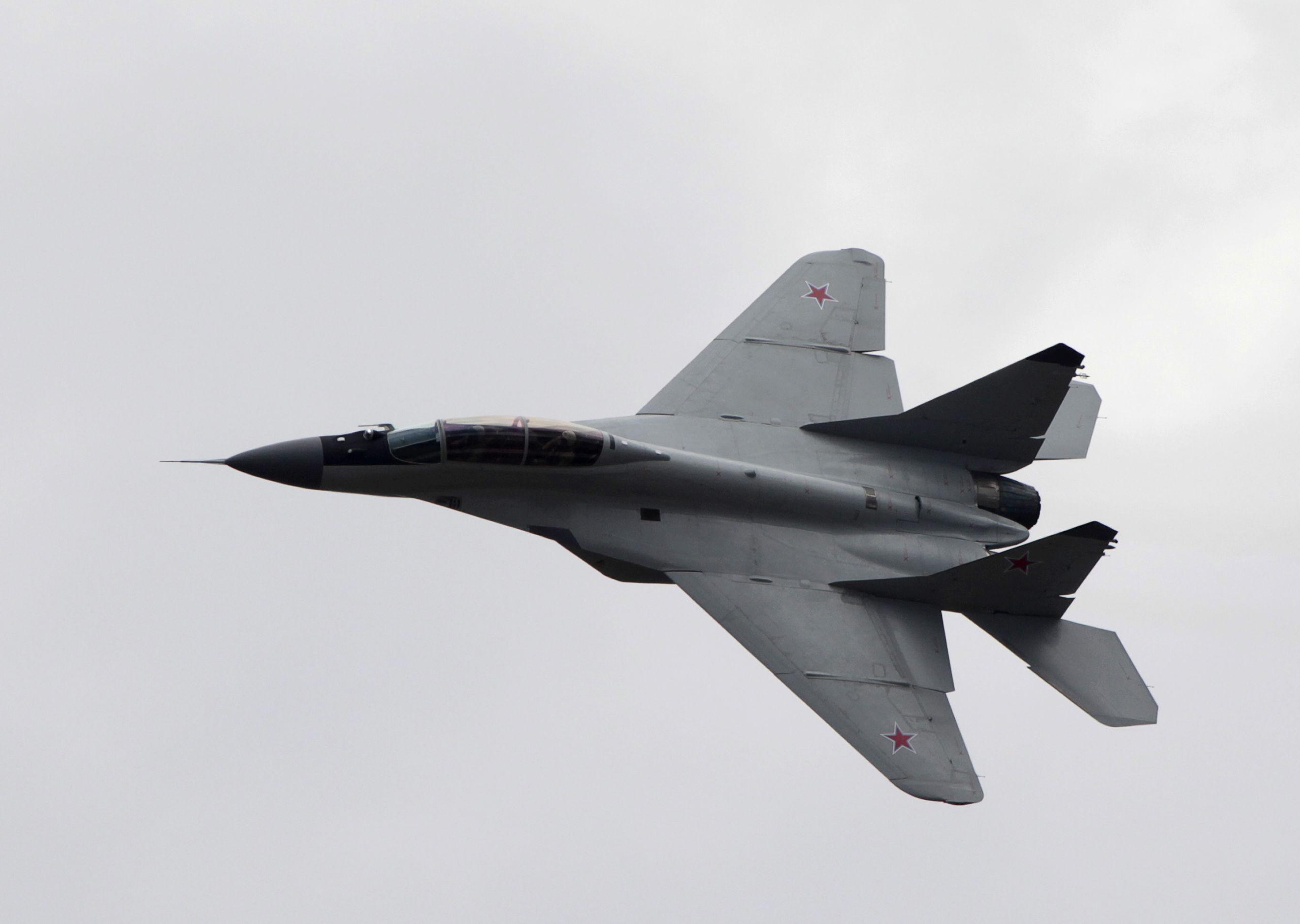 USA: Omärkta ryska stridsflygplan i Libyen