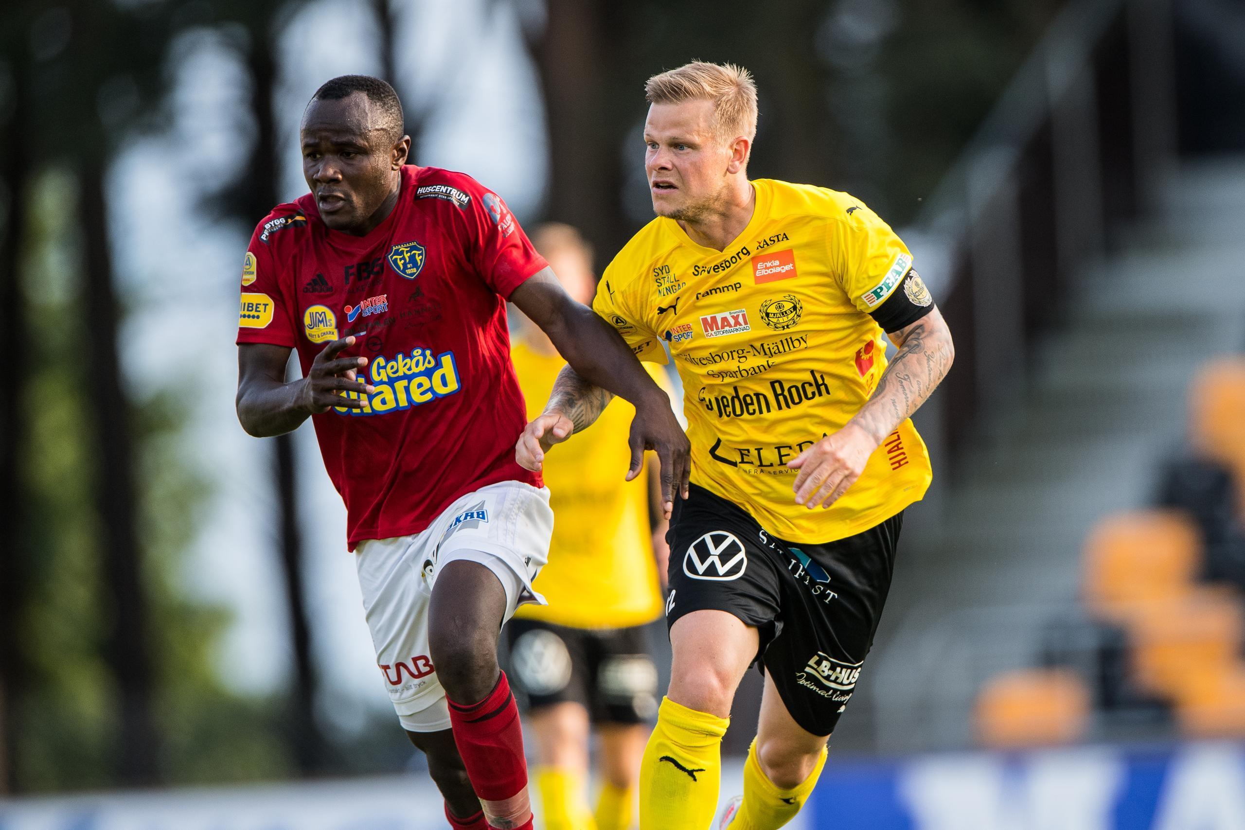 Betygen i Falkenbergs FF mot Mjällby i Allsvenskan