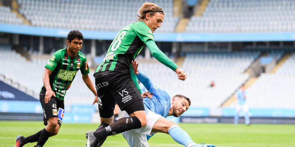 Varbergs Bois Sensation Mot Malmo Ff I Allsvenskan Hn
