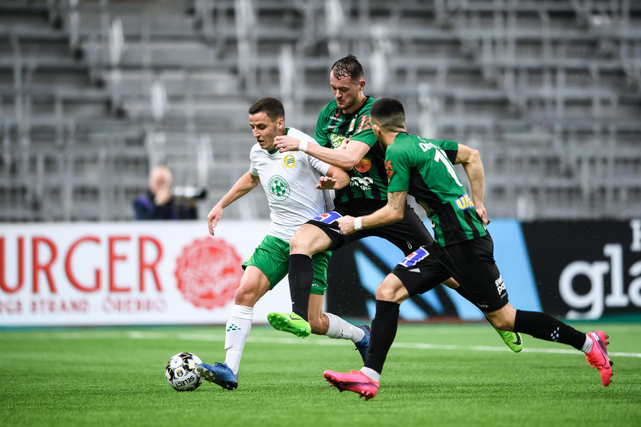 Följ Varbergs Bois mot Hammarby i Allsvenskan