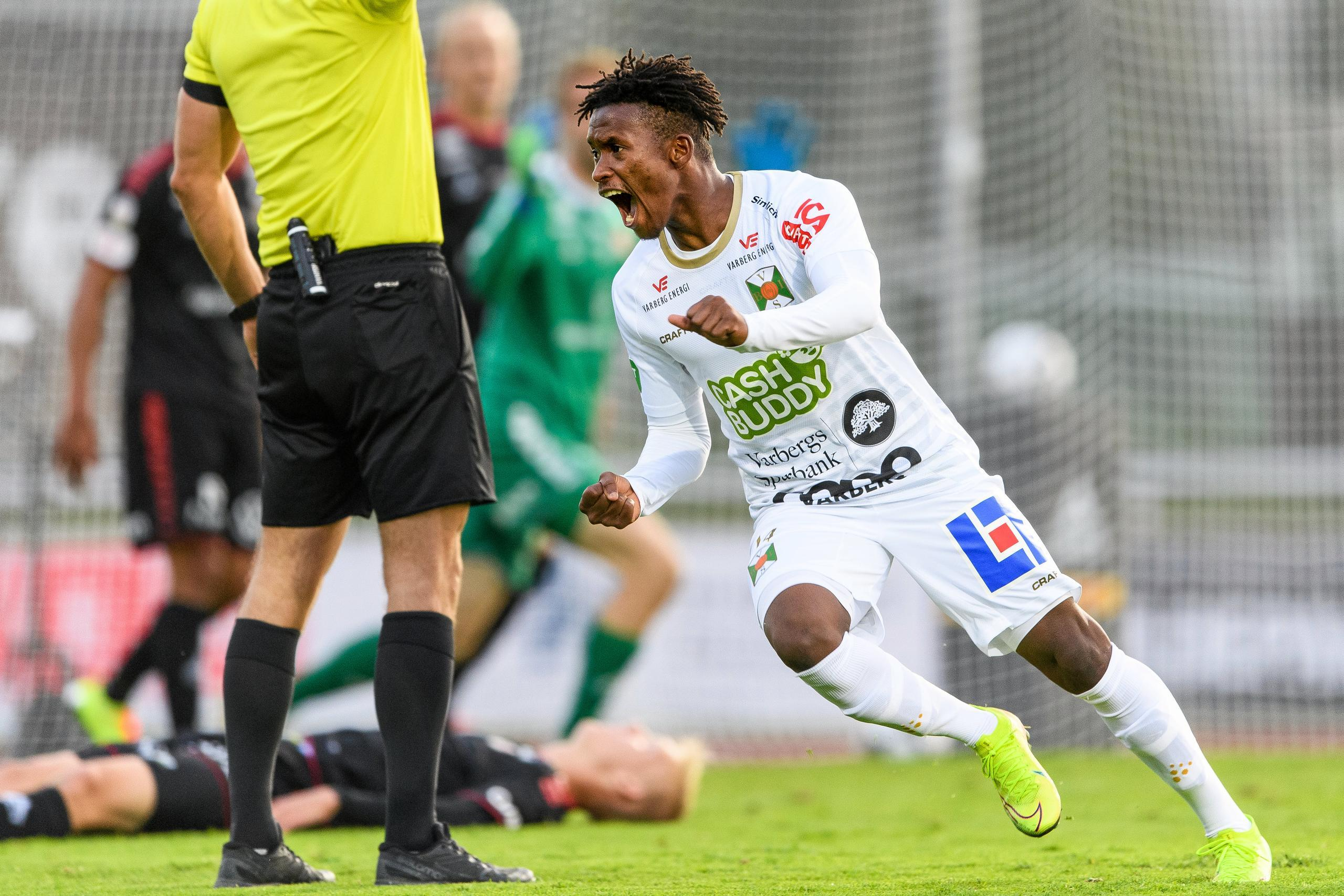 Varbergs Bois Adama Fofana matchvinnare mot Kalmar FF i Allsvenskan