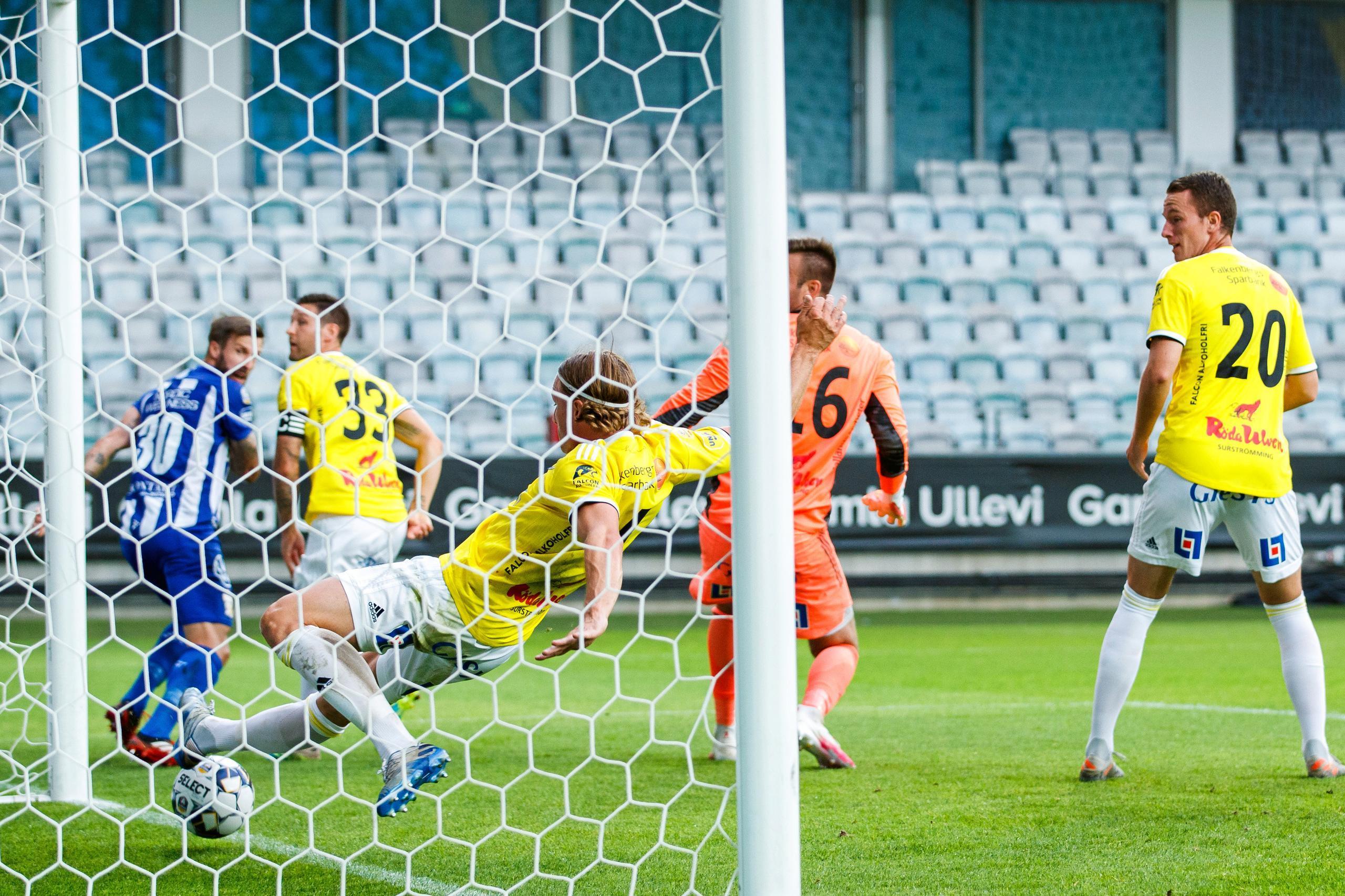 Calle Johansson räddade Falkenbergs FF två gånger om