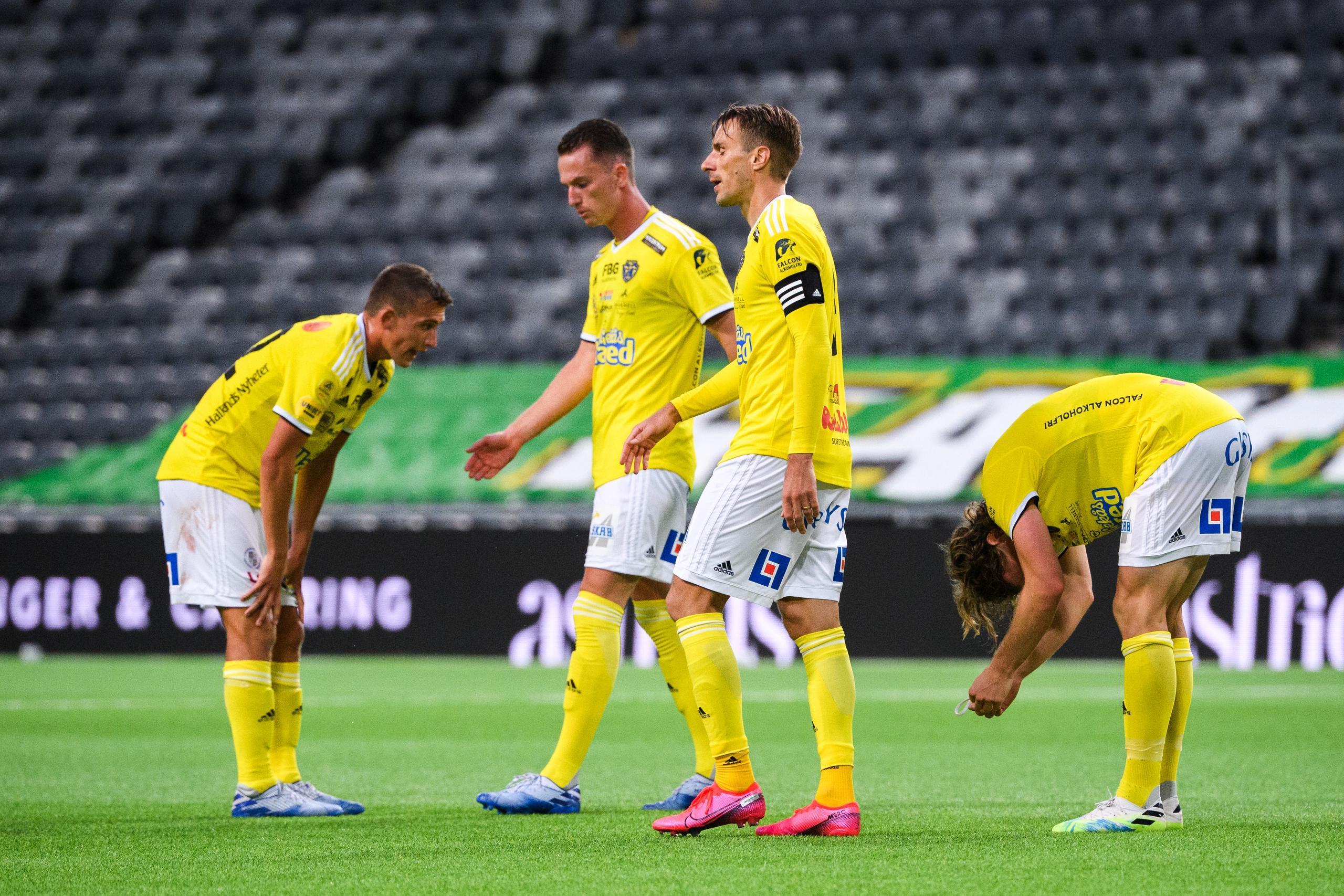 Falkenbergs FF tog poäng mot Hammarby IF