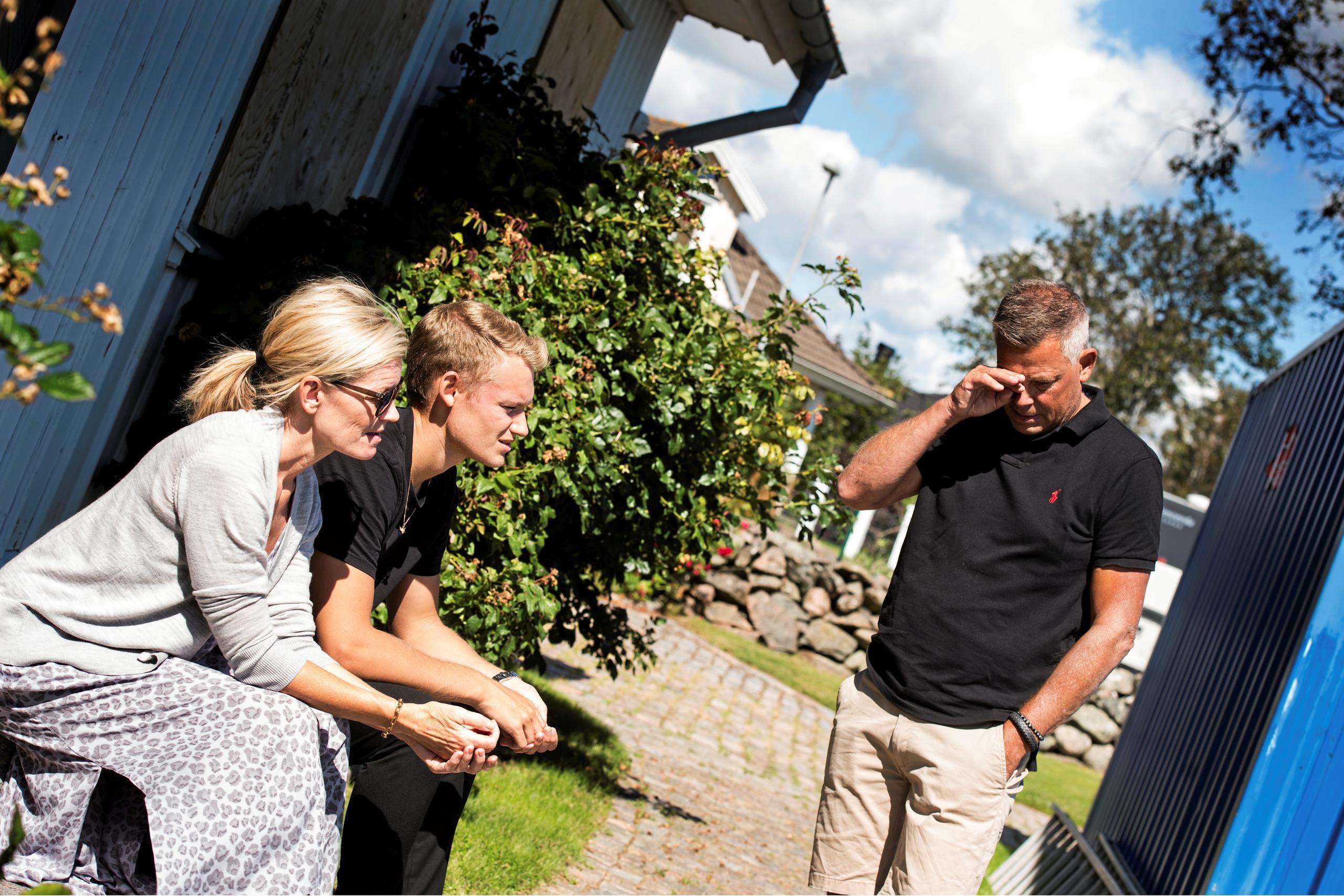 Familjen berättar om sorgen efter Gustaf Nävarp