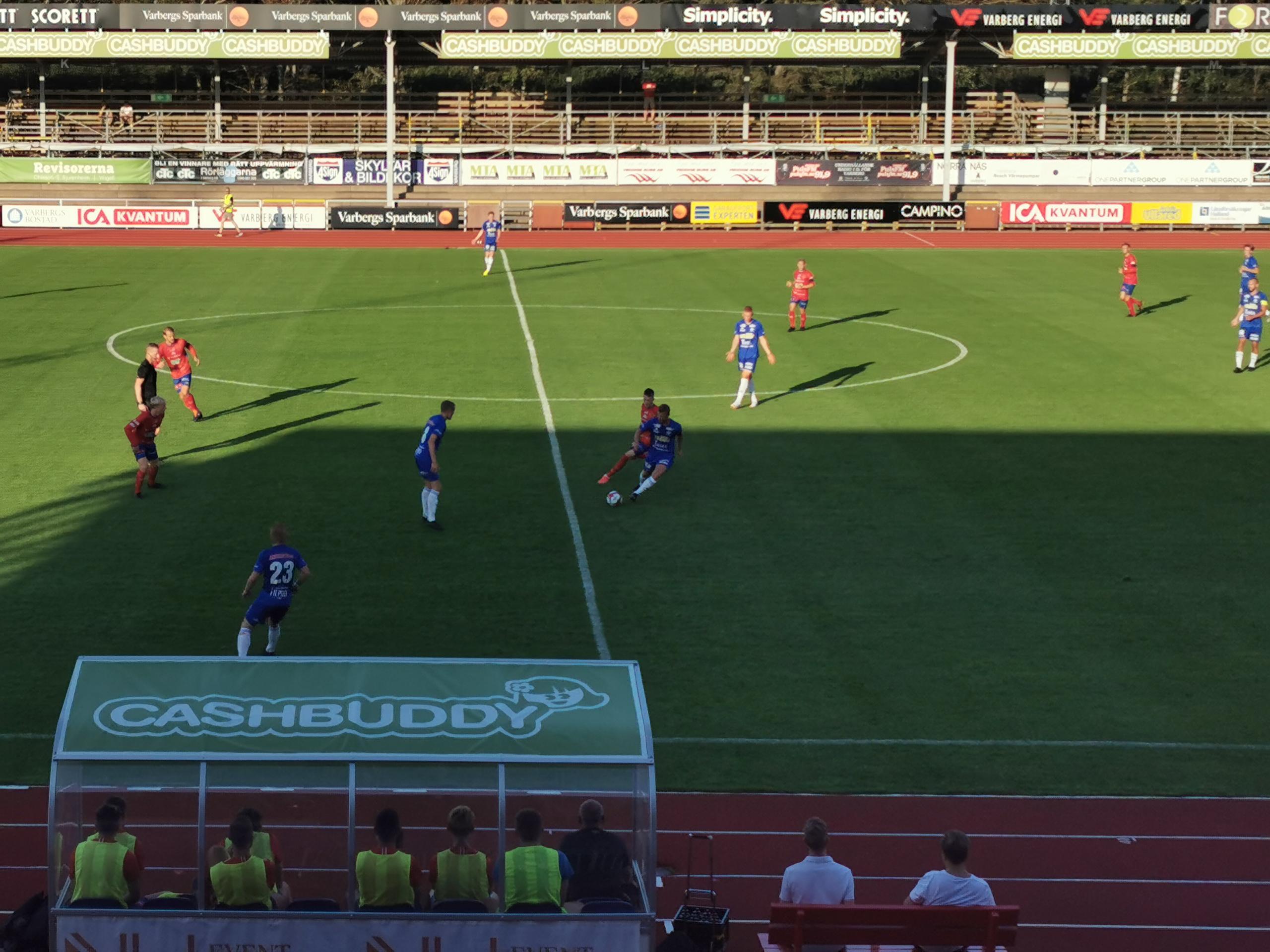 Höjdpunkterna från matchen Varbergs Gif mot Ullareds IK