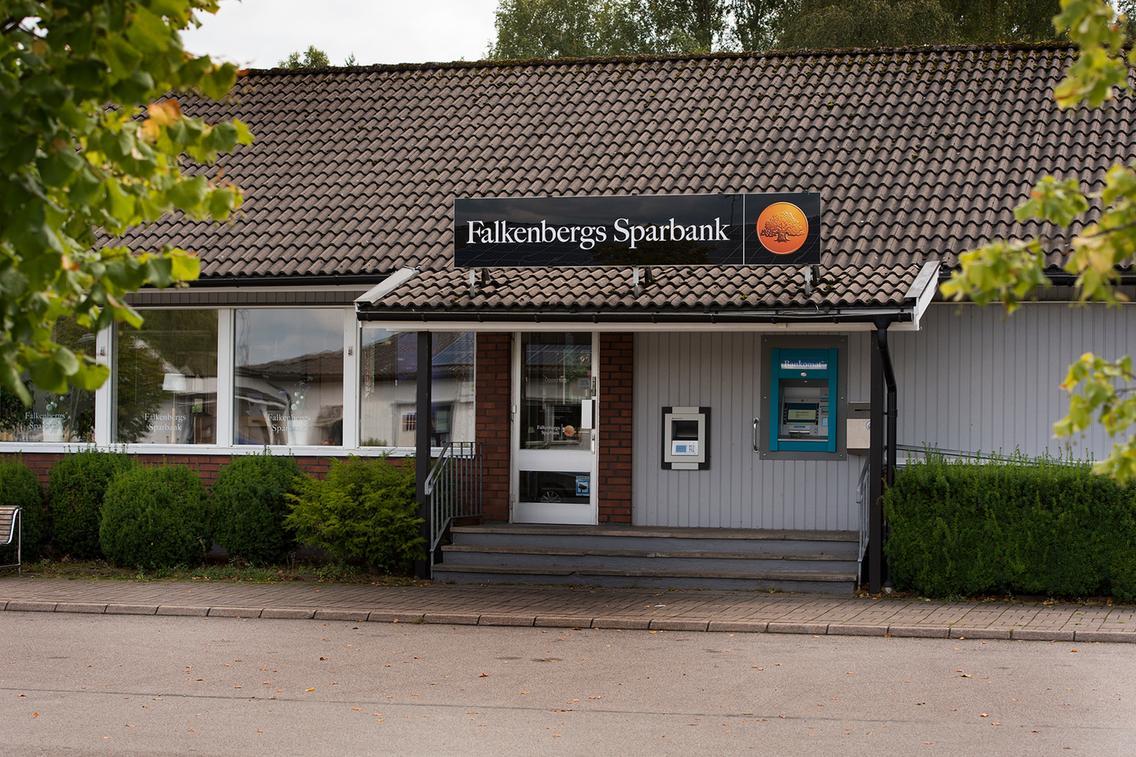 Banklokalen i Ätran, bild från HN.