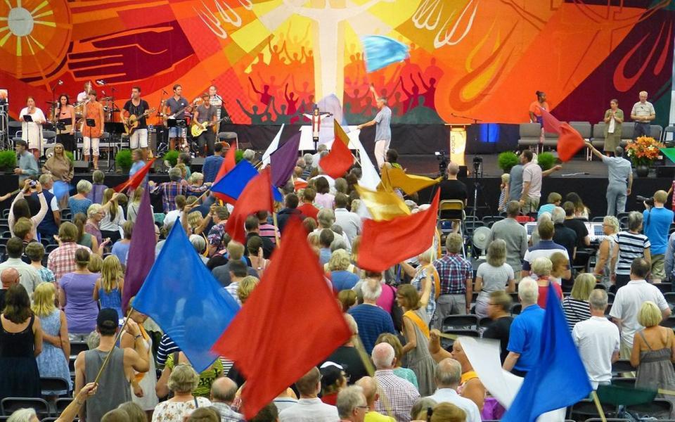 6293c081 Oasrörelsen ska ha sin sommarträff i Varberg i år. Deltagarna kommer från  olika kristna samfund.