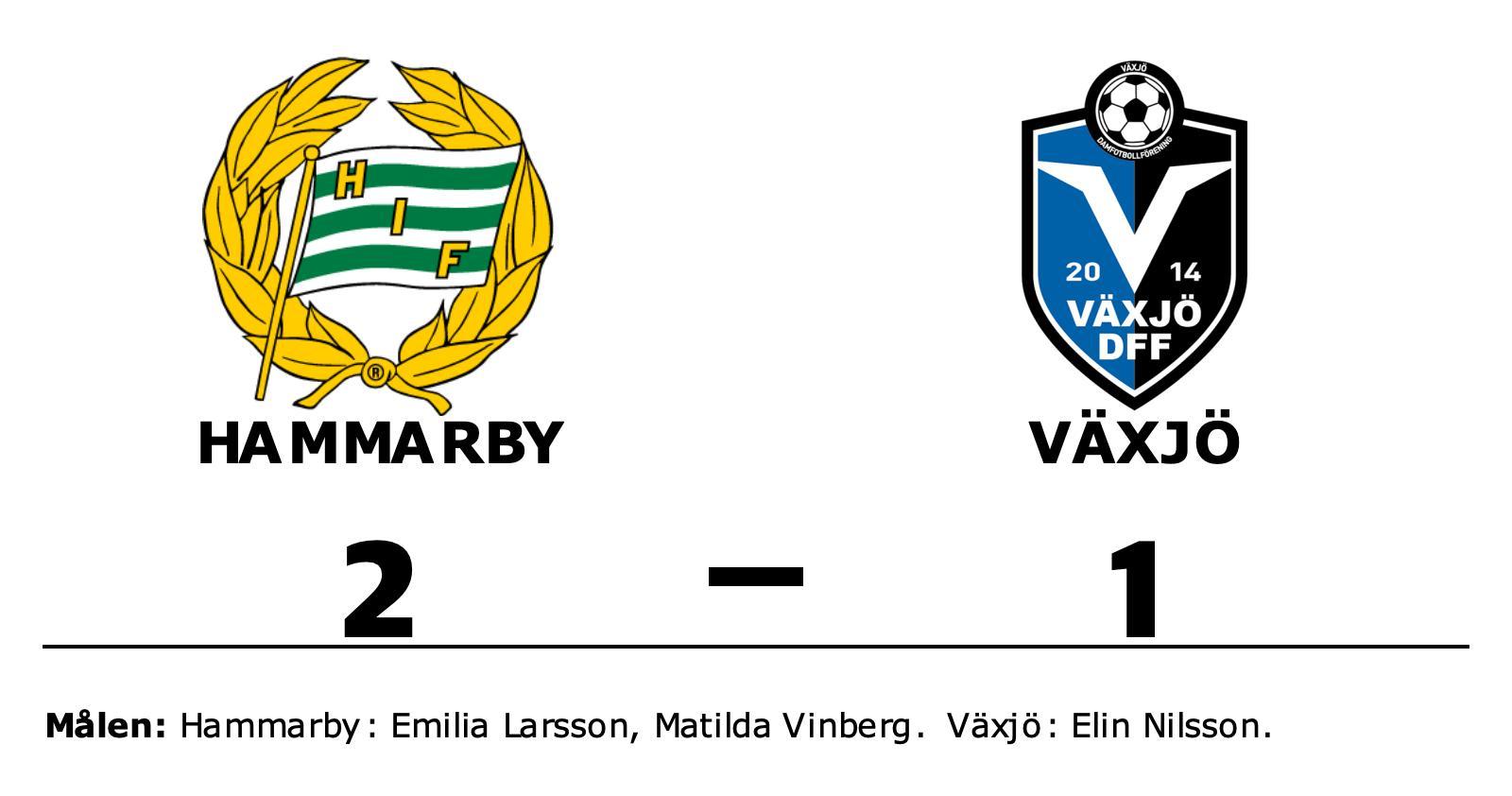 Hammarby svårslaget – åttonde matchen i rad med poäng efter 2-1