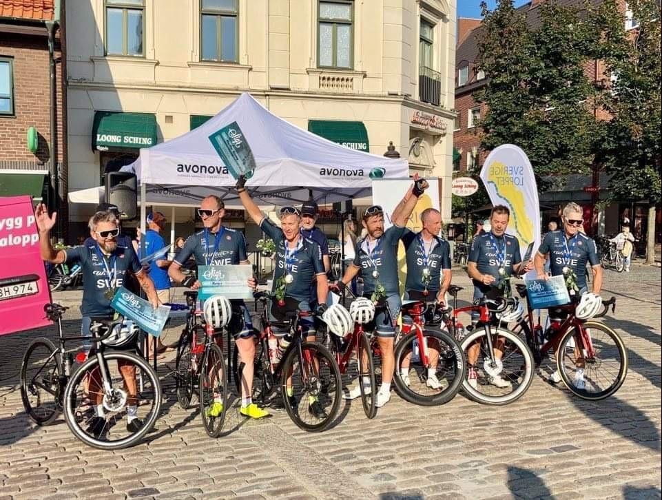Cyklister från Varberg och Falkenberg vann Sverigeloppet