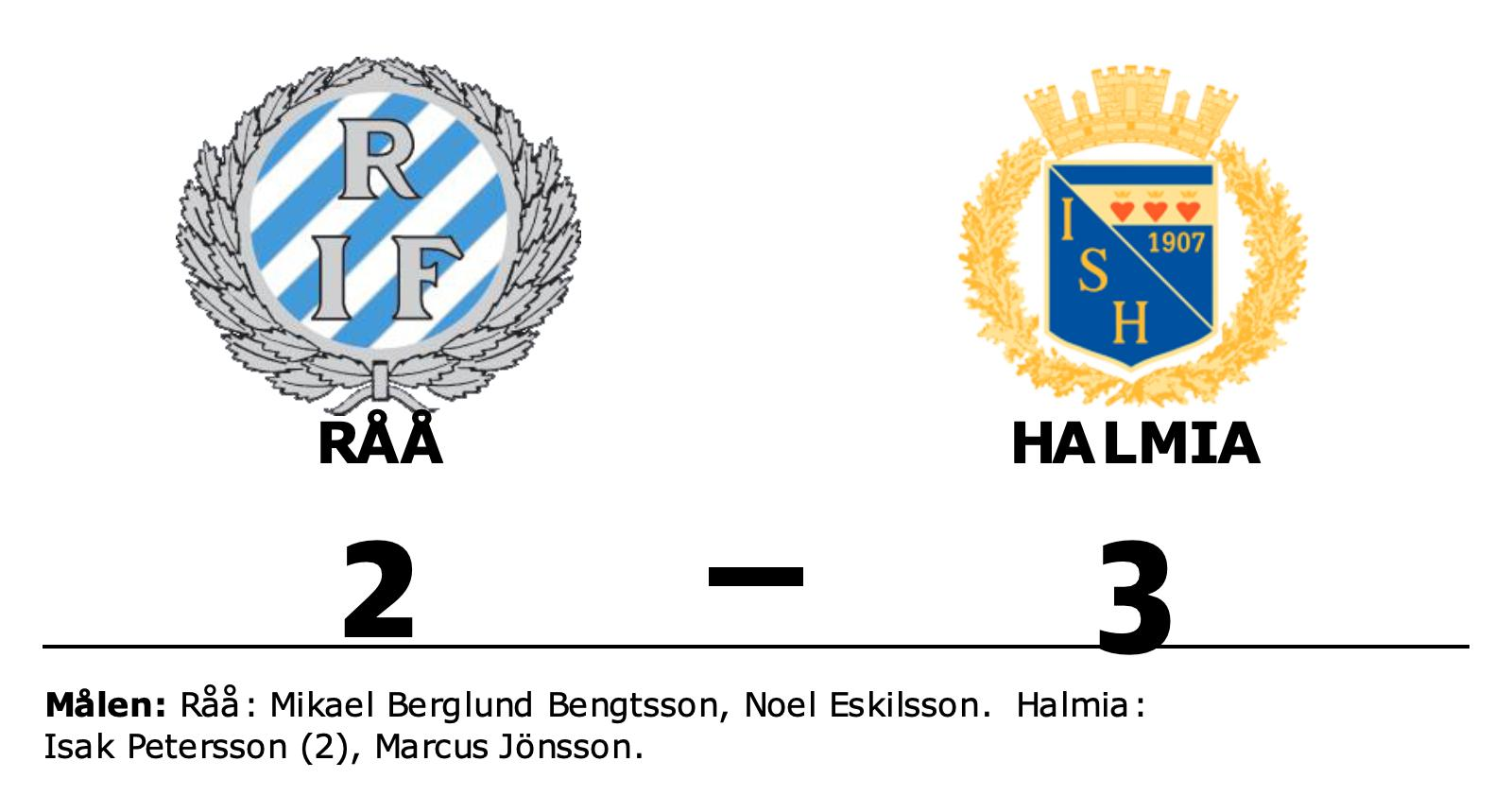 Isak Petersson i målform när Halmia vann mot Råå