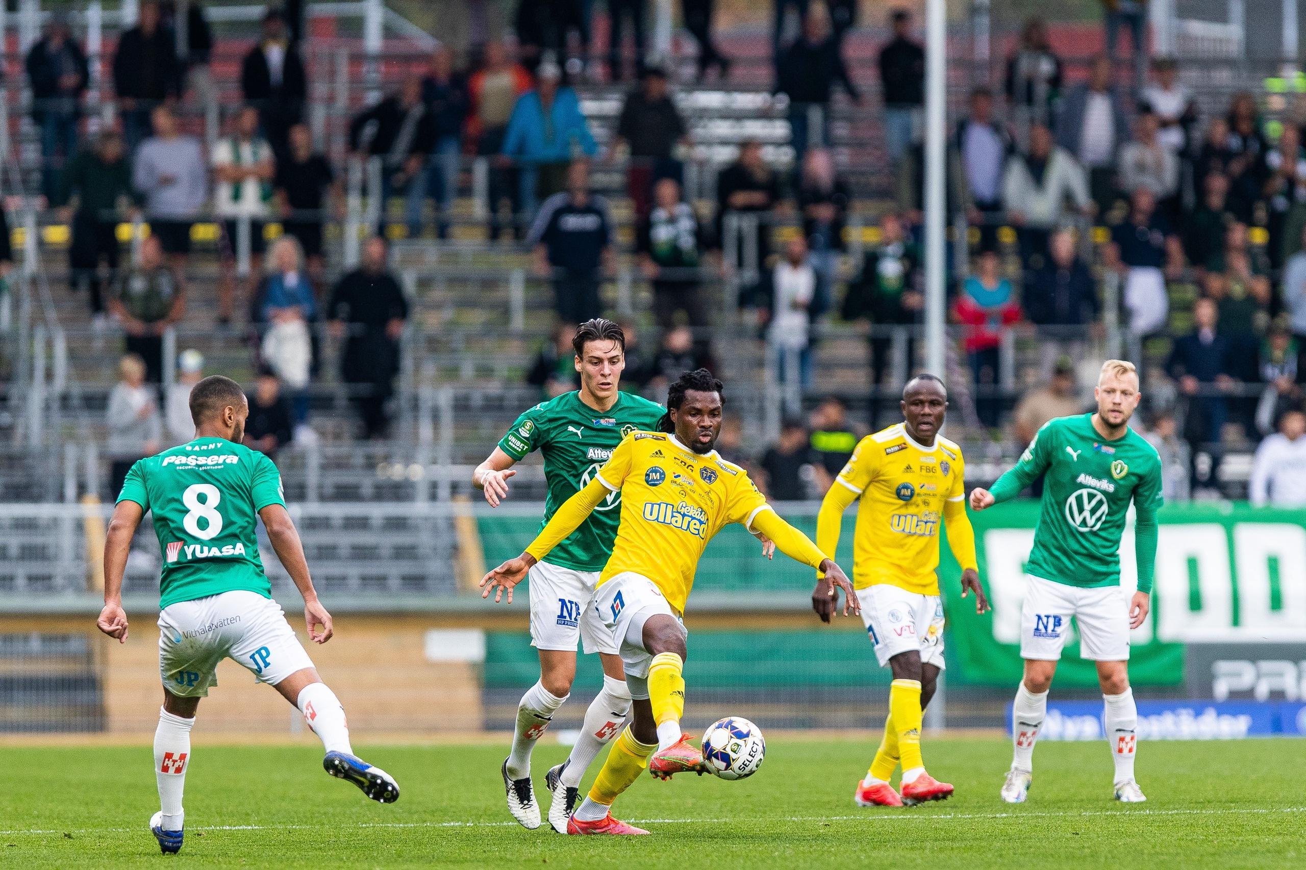 Falkenbergs FF förlorade mot Jönköpings Södra