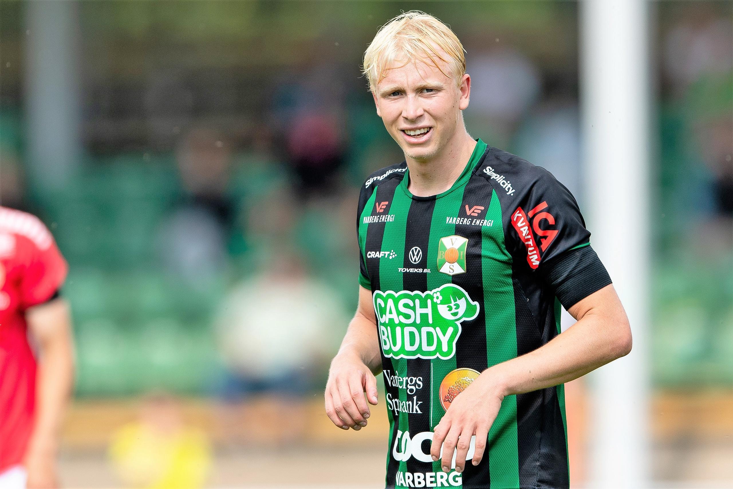 Varbergs Bois skriver femårskontrakt med André Boman