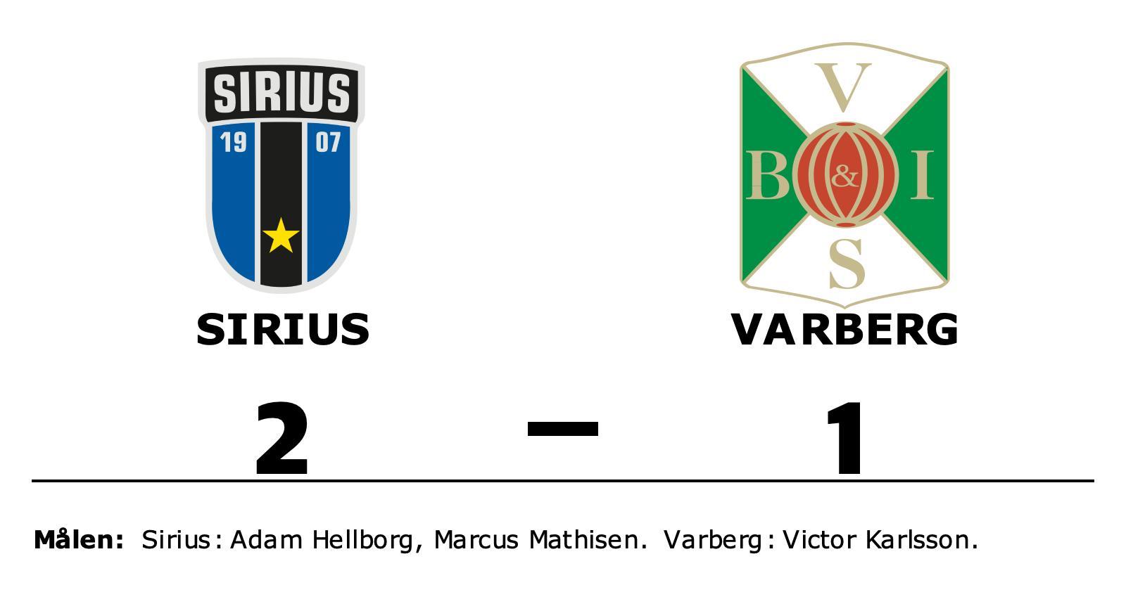 Victor Karlsson enda målskytt när Varberg föll