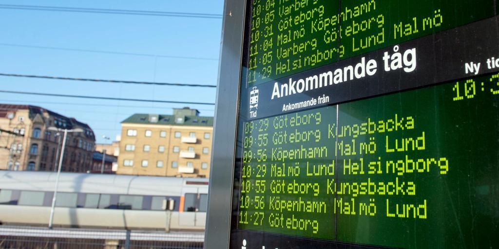 Olämpligt Med Två Stationer I En Stad Hallands Nyheter Ordet är